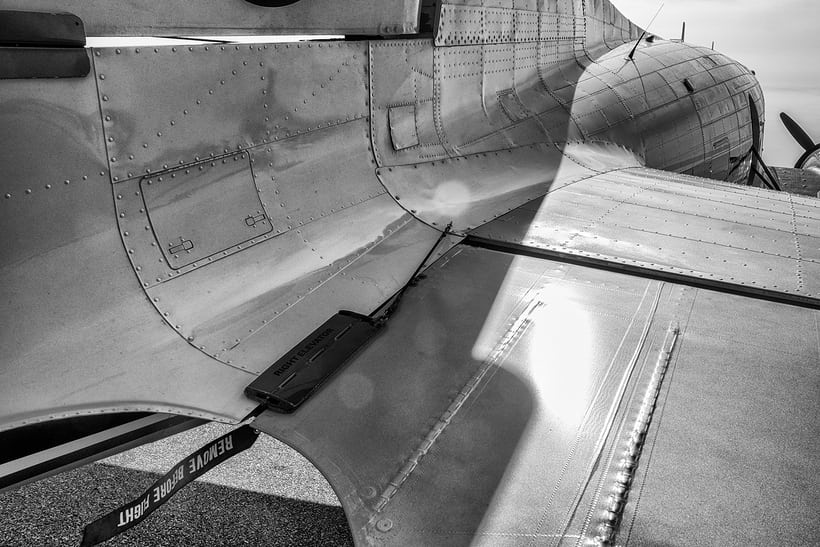 Breitling DC-3 tail