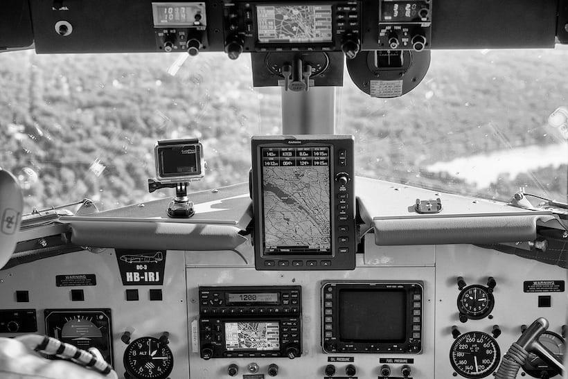 cockpit, Breitling DC-3