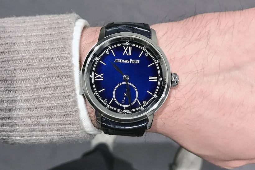 jules audemars supersonnerie repeater audemars piguet dial wristshot