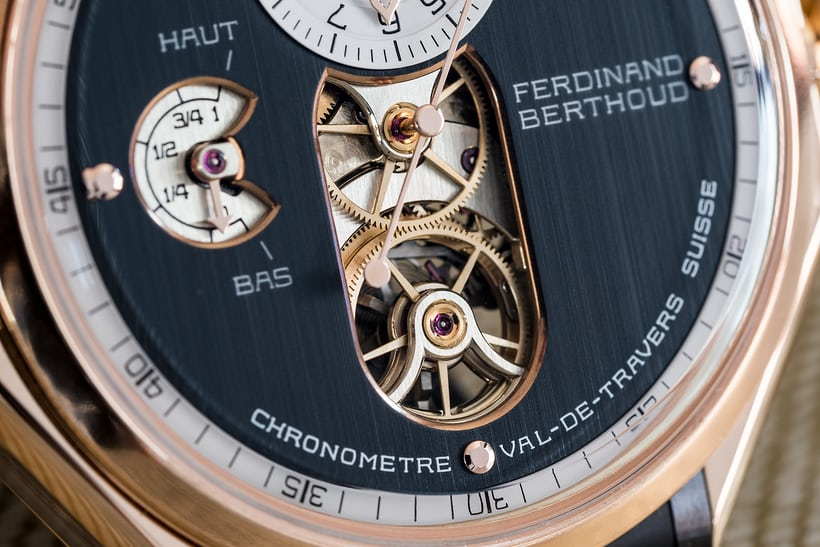 Ferdinand Berthoud Chronomètre FB 1 tourbillon carriage
