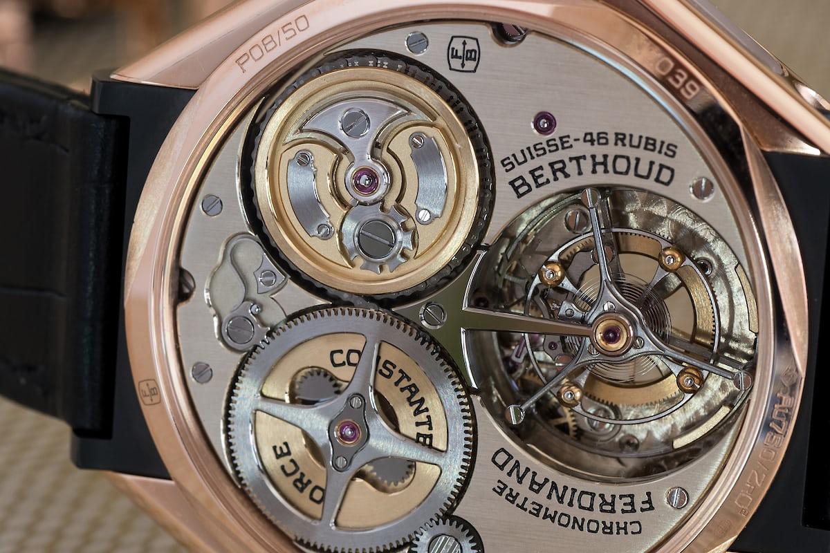 Chronomètre FB 1 Caliber FB-T.FC closeup
