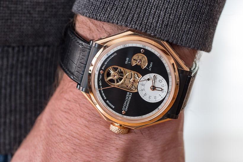 Chronomètre FB-1 wrist shot