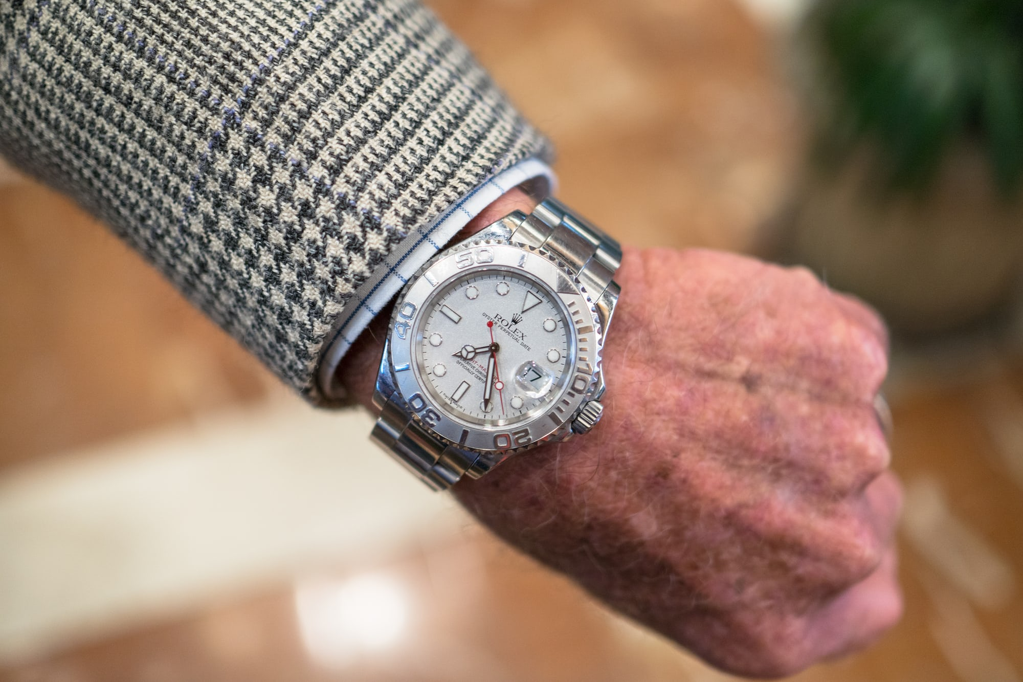 Photo Report: Car And Watch Spotting At Monterey Car Week 2017 Photo Report: Car And Watch Spotting At Monterey Car Week 2017 Watch Spotting Hurley Haywood 1
