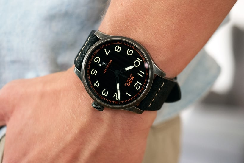 The Mido Multifort Escape wrist shot