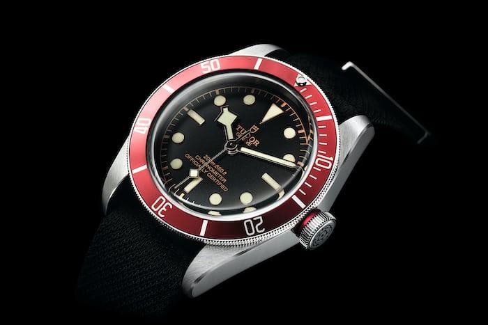 tudor black bay red