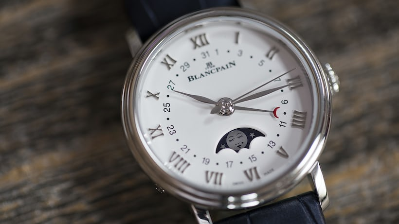 blancpain ladies moon phase