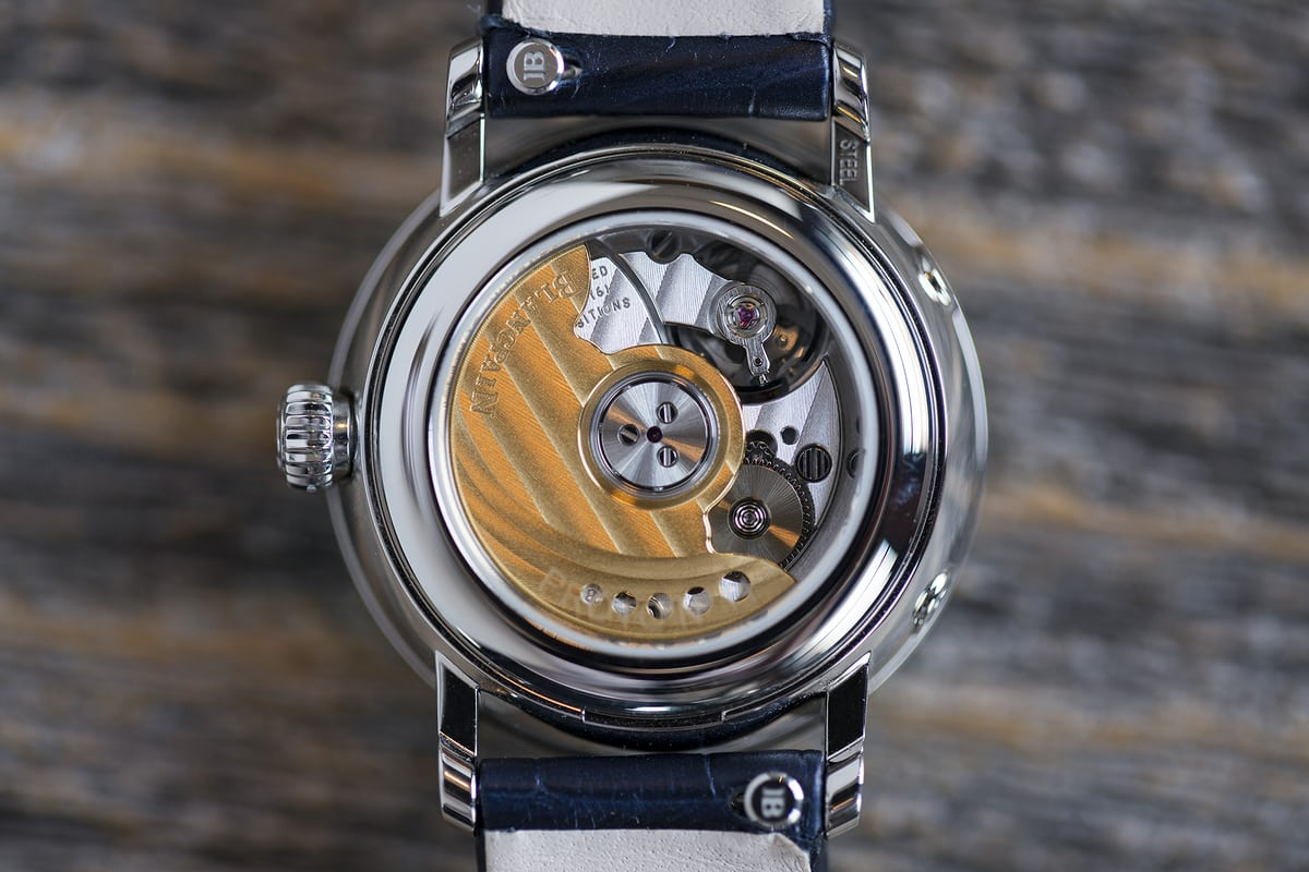 blnacpain caliber 913QL movement