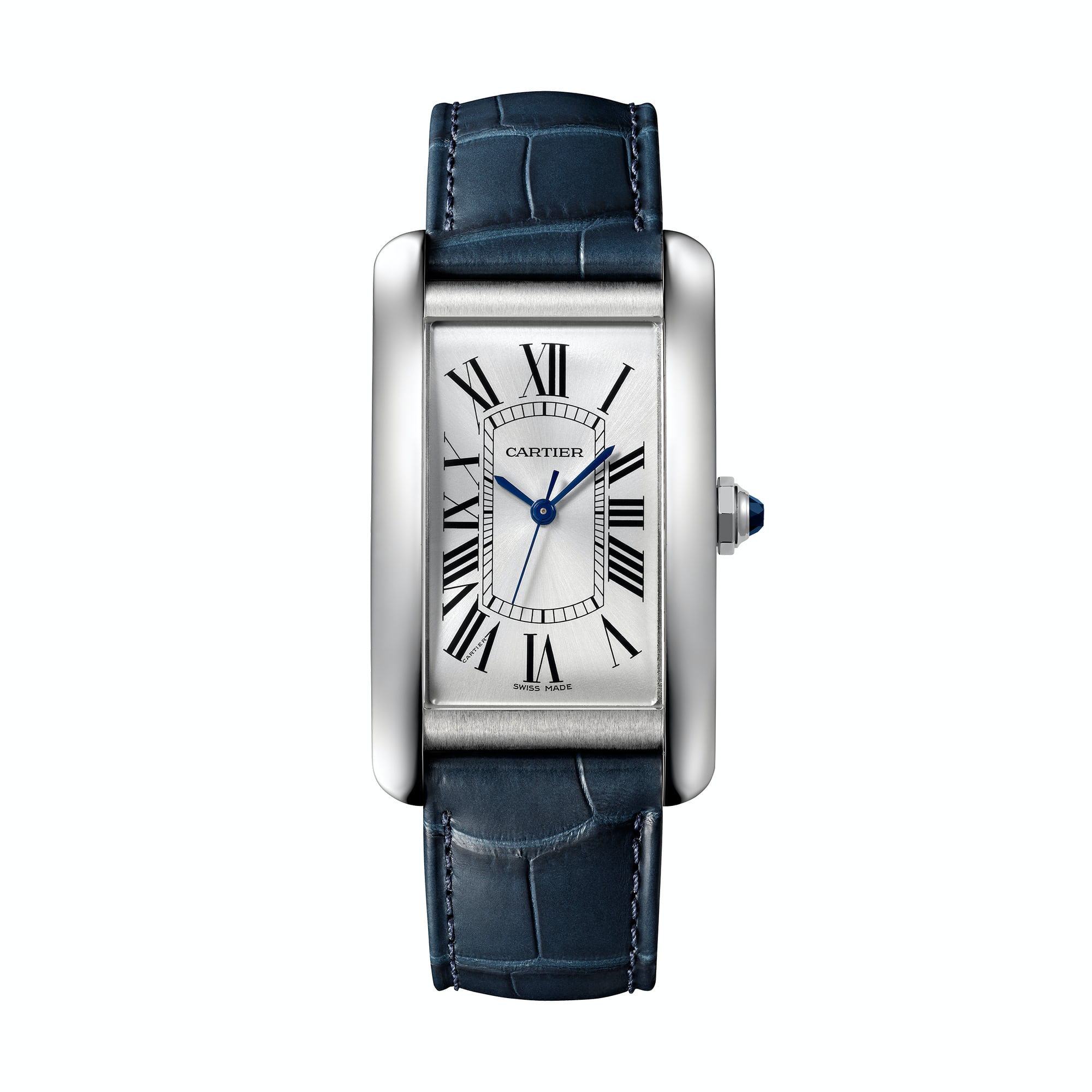 tank americaine large Introducing: The Cartier Tank Americaine In Stainless Steel Introducing: The Cartier Tank Americaine In Stainless Steel TA Large