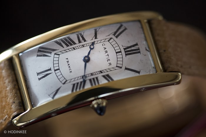 cartier tank cintree archive 1921