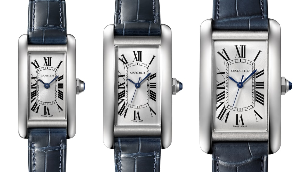 Introducing: The Cartier Tank Americaine In Stainless ...
