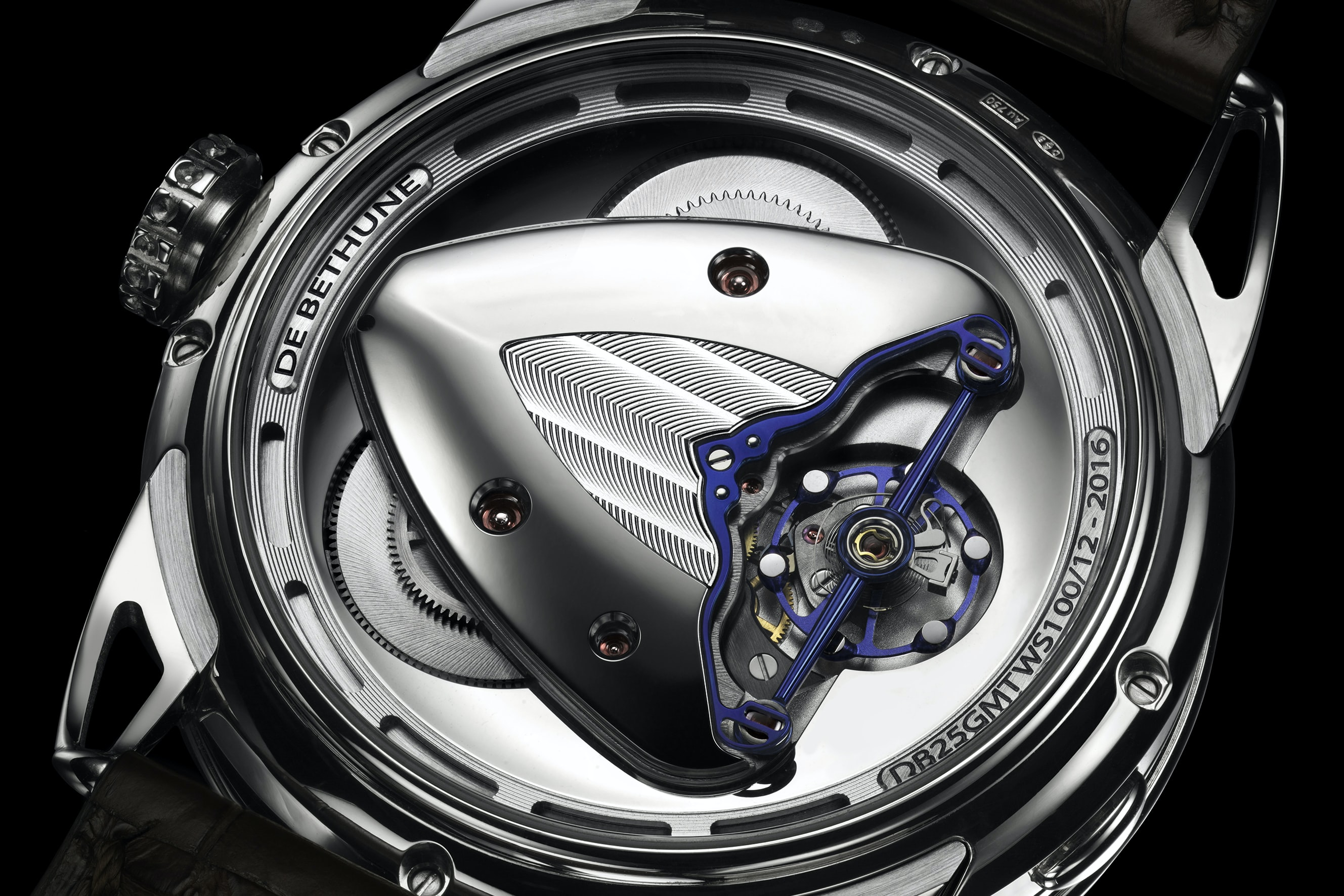 De Bethune DB25 with titanium balance and white gold inserts (2016) Technical Perspective: A Conversation With De Bethune's Denis Flageollet Technical Perspective: A Conversation With De Bethune's Denis Flageollet 20160cropped