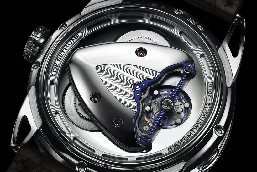 De Bethune DB25 with titanium balance and white gold inserts (2016)