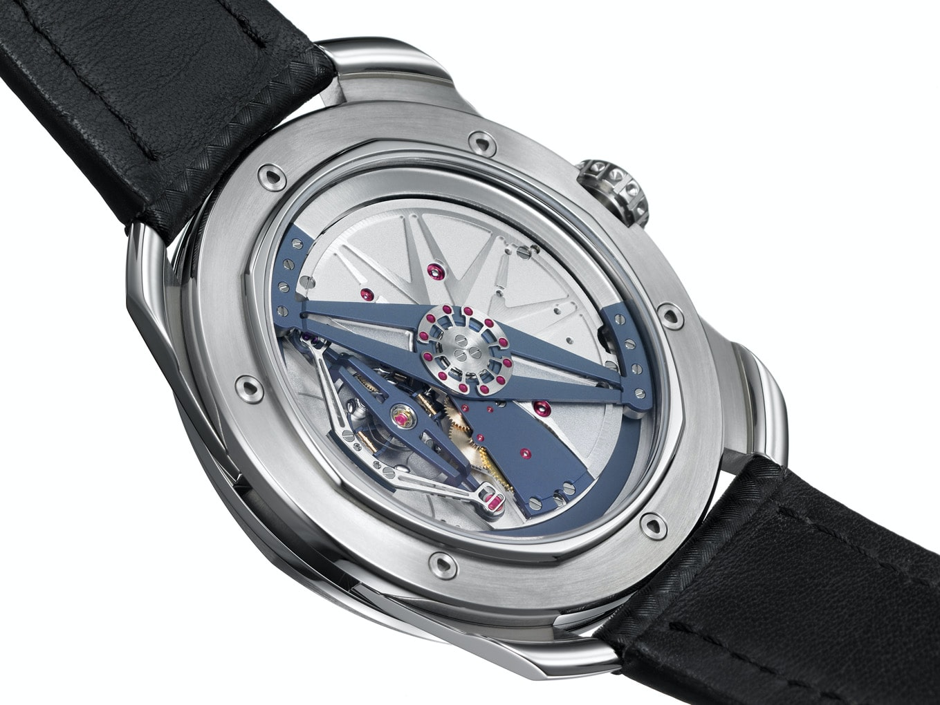 De Bethune DB25 with titanium and platinum balance featuring diagonal crossings (2005) Technical Perspective: A Conversation With De Bethune's Denis Flageollet Technical Perspective: A Conversation With De Bethune's Denis Flageollet 2005 2
