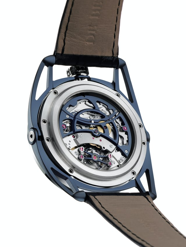 De Bethune DB28 with silicon / platinum balance featuring temperature compensation (2006)