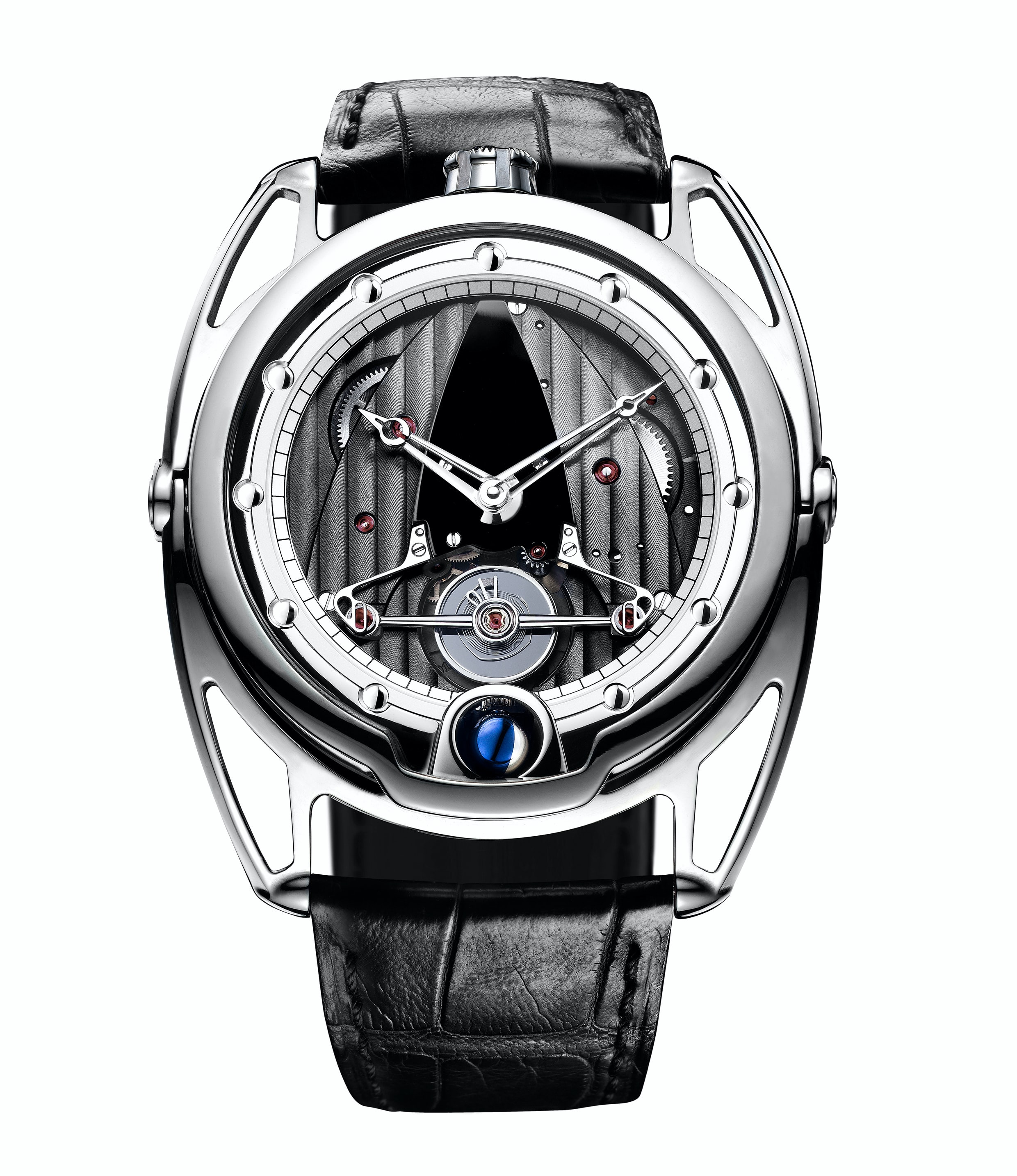 De Bethune DB28 with silicon / platinum annular balance (2008) Technical Perspective: A Conversation With De Bethune's Denis Flageollet Technical Perspective: A Conversation With De Bethune's Denis Flageollet 2008 silicon20cropped