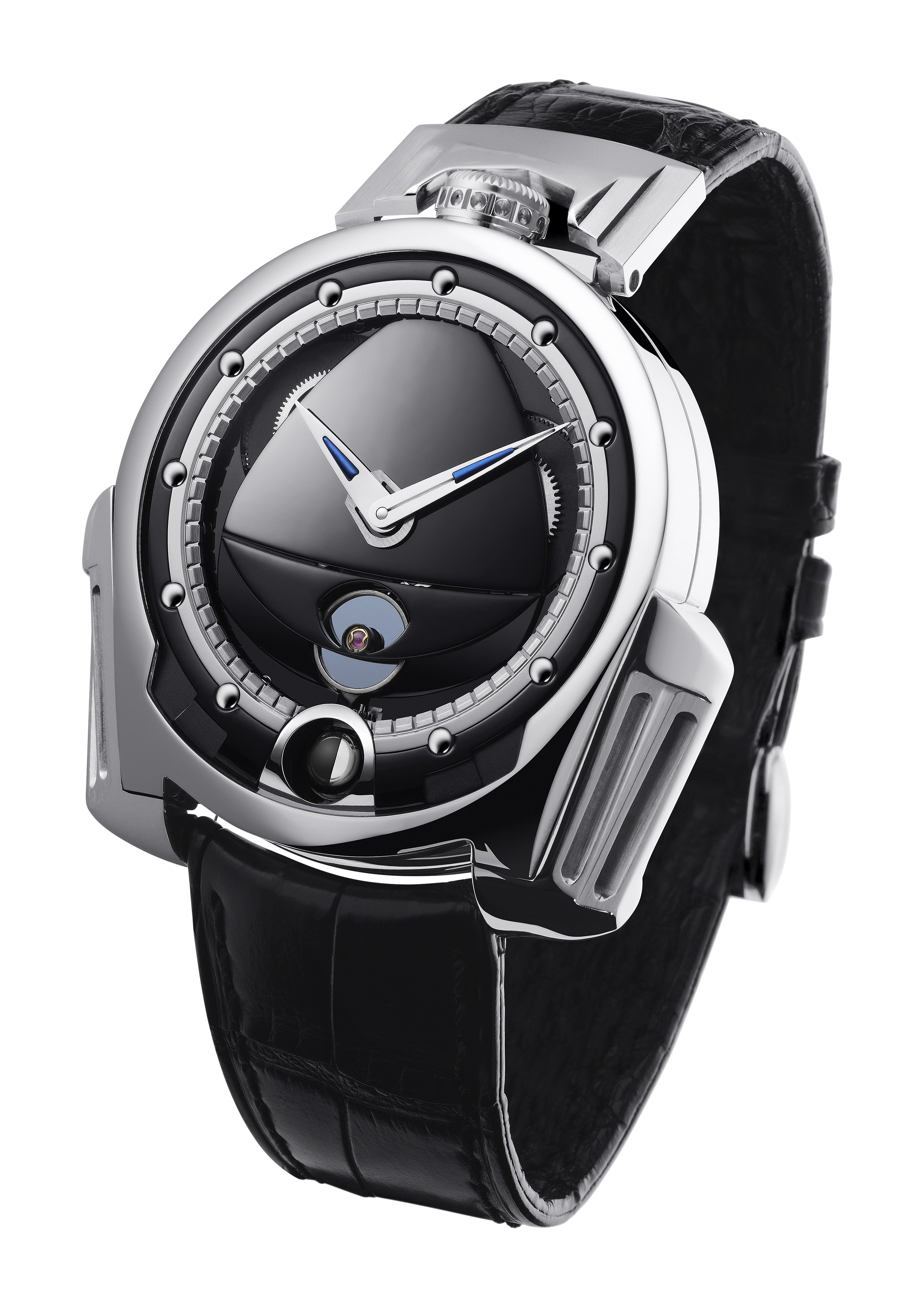 De Bethune Dream Watch with silicon / platinum annular balance (2009) Technical Perspective: A Conversation With De Bethune's Denis Flageollet Technical Perspective: A Conversation With De Bethune's Denis Flageollet 2009