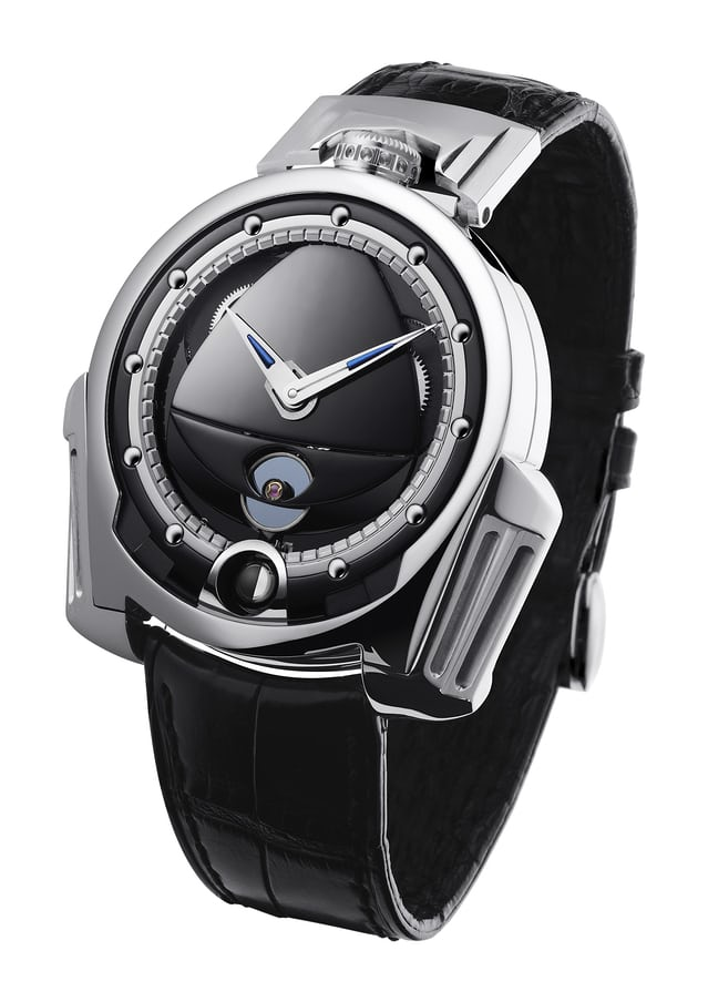 De Bethune Dream Watch with silicon / platinum annular balance (2009)