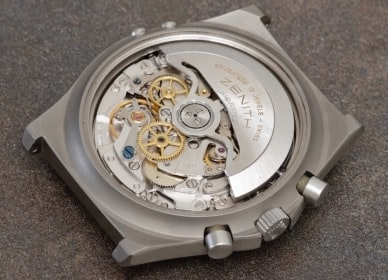 El Primero Caliber 3019PHF  Bring a Loupe: A Titanium Zenith Port Royal, A Military Universal Genve Compax, A Pulsations Doxa Sfygmos, And More Zenith back