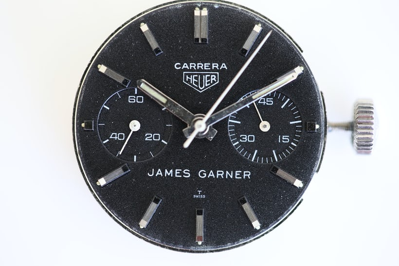 James Garner Heuer Carrera