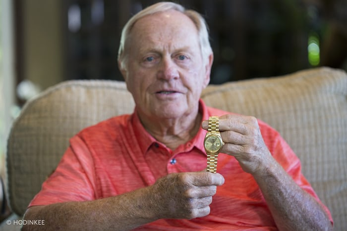Jack Nicklaus gold rolex day date
