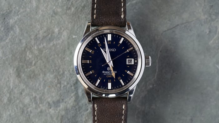 The Grand Seiko GMT SBGM031 2012 Limited Edition.