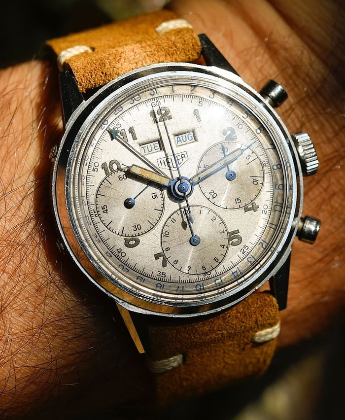 Heuer Triple Calendar Reference 2547