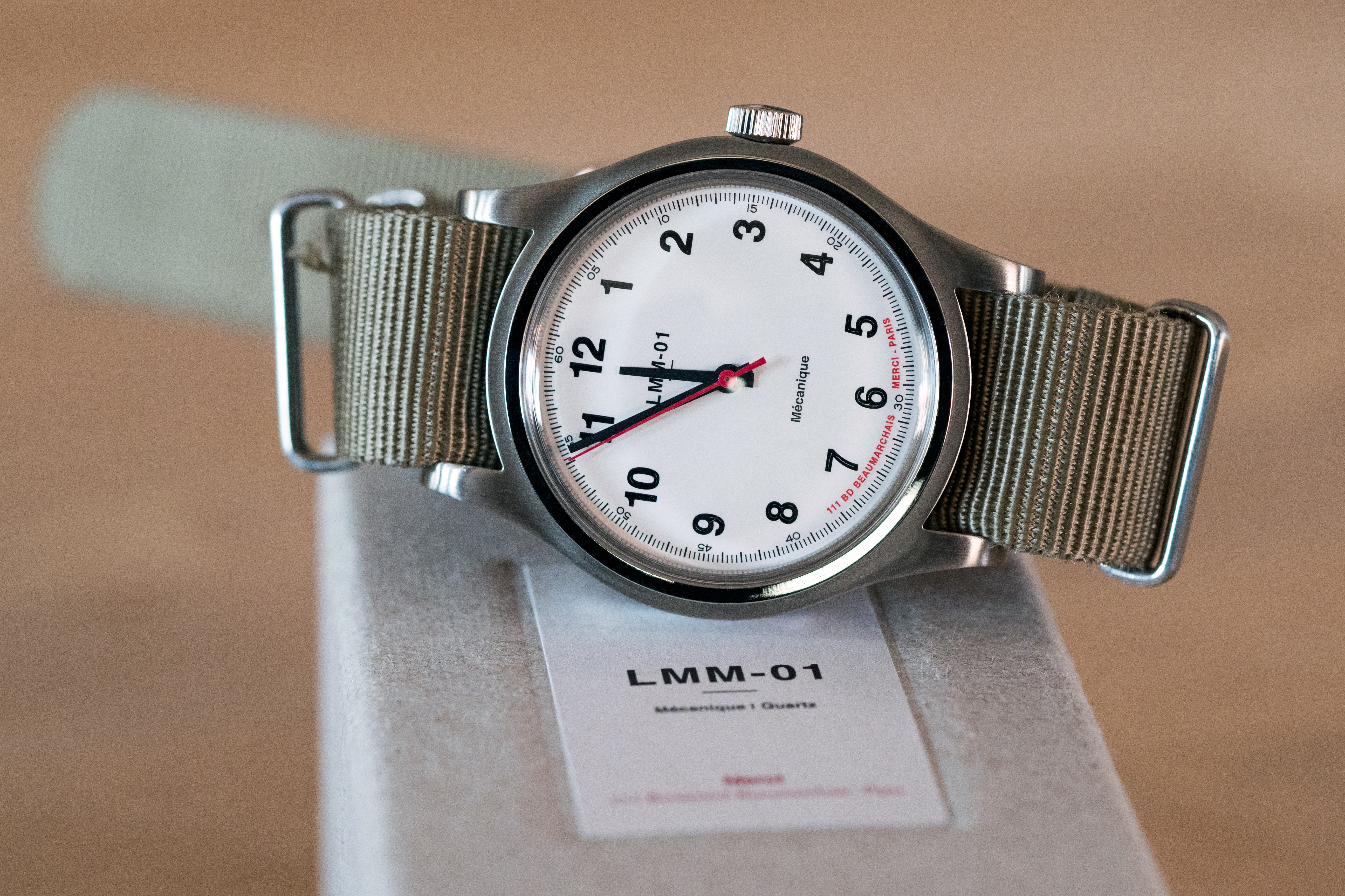 Merci LMM-01 white dial Introducing: The Merci LMM-01 Introducing: The Merci LMM-01 P8172228
