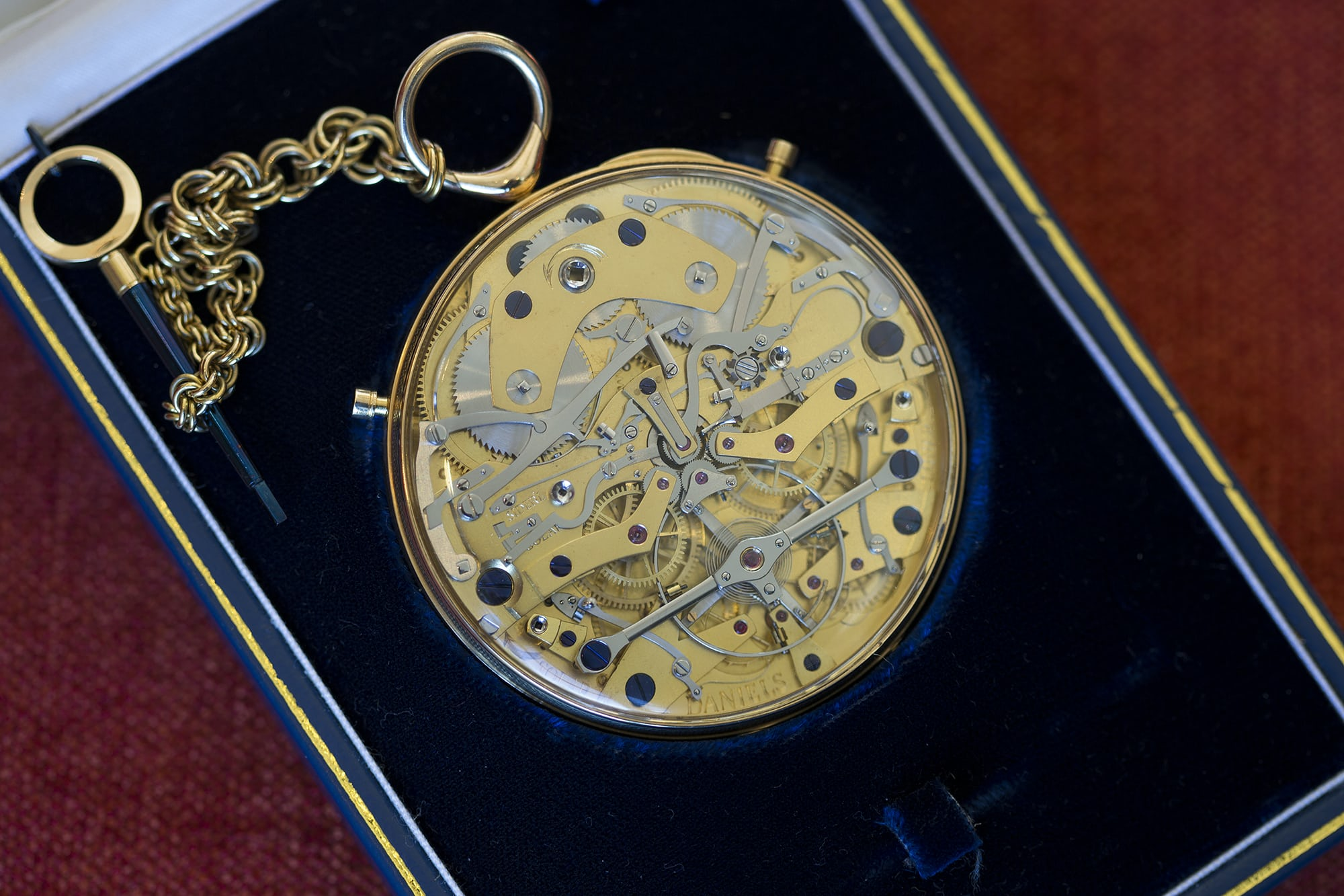 george daniels space traveller movement breaking news: the george daniels space traveller pocket watch sells for $4.3 million at sotheby's london Breaking News: The George Daniels Space Traveller Pocket Watch Sells For $4.3 Million At Sotheby's London 20010449 copy