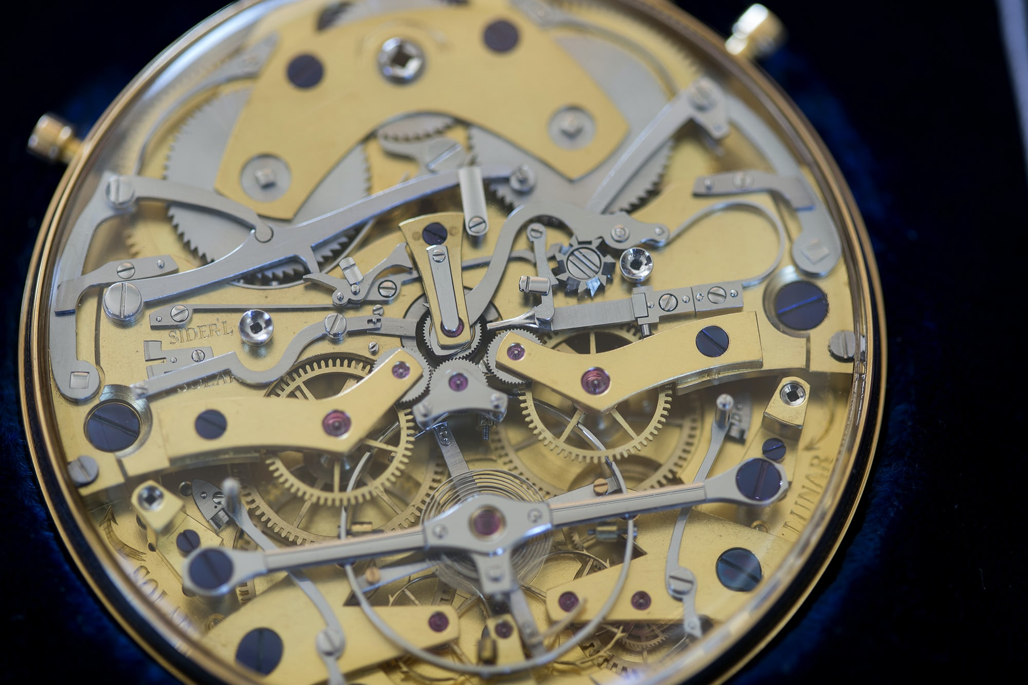 Daniels Space Traveler movement closeup Auction Report: Sotheby's To Offer The Daniels 'Space Traveller' Watch, September 19th In London Auction Report: Sotheby's To Offer The Daniels 'Space Traveller' Watch, September 19th In London 20010469 copy