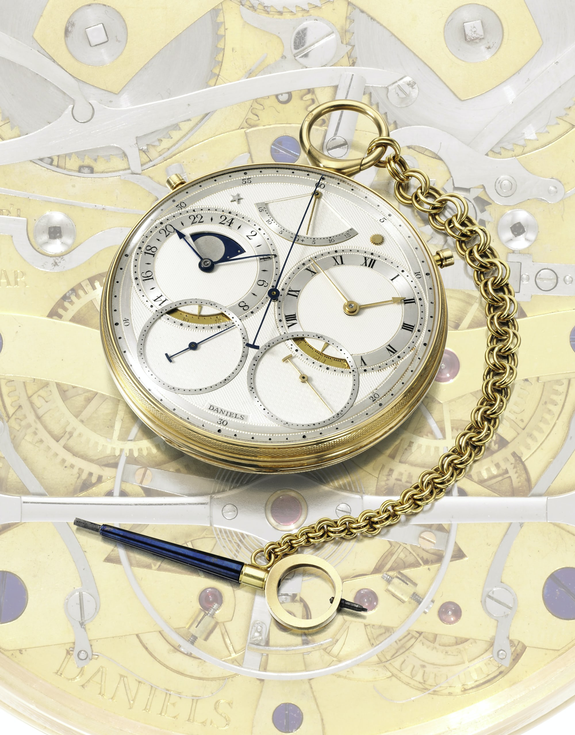 auction report: sotheby's to offer the daniels 'space traveller' watch, september 19th in london Auction Report: Sotheby's To Offer The Daniels 'Space Traveller' Watch, September 19th In London Daniels   SPACE TRAVELLERS WATCH