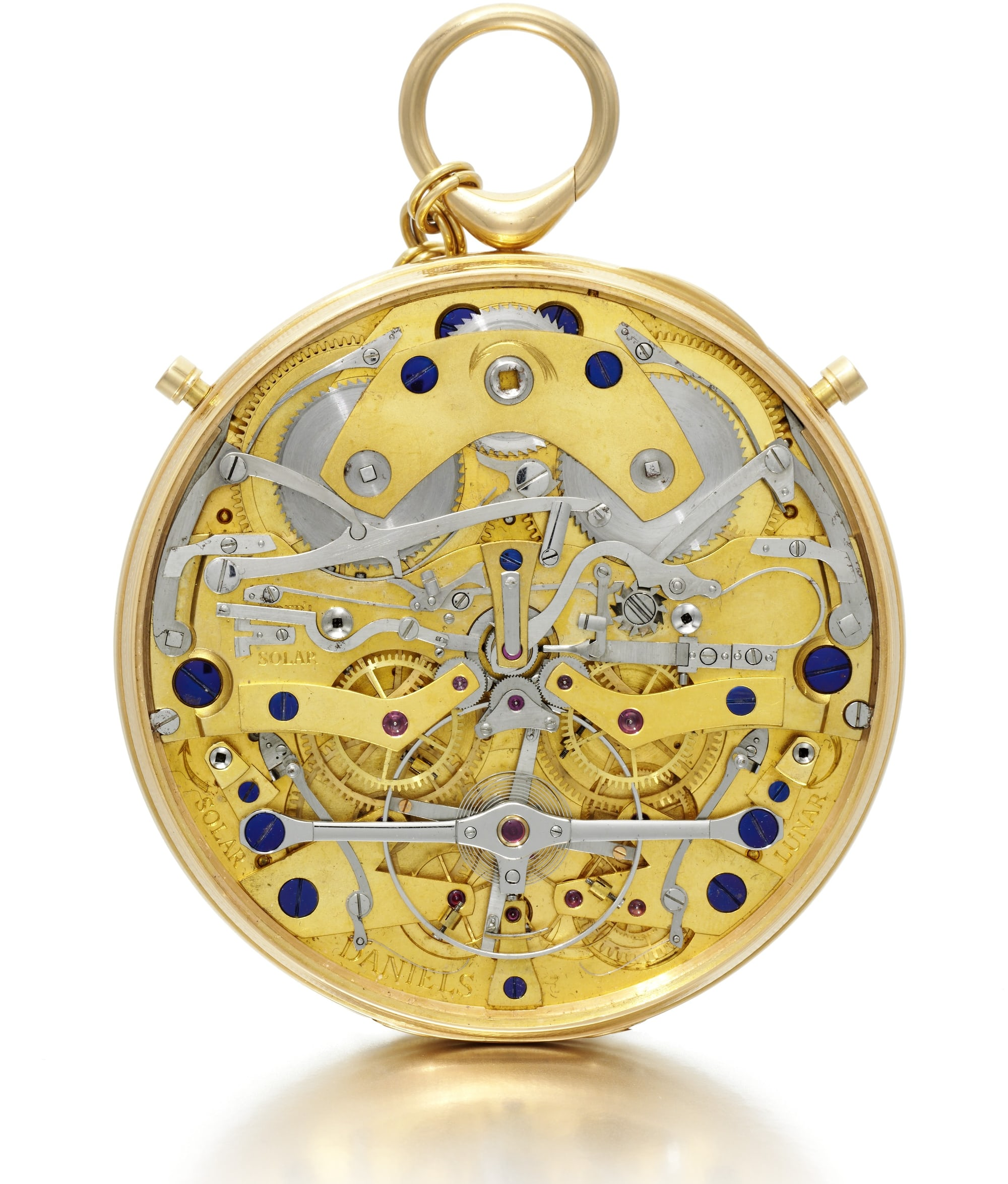 Auction Report: Sotheby's To Offer The Daniels 'Space Traveller' Watch, September 19th In London Auction Report: Sotheby's To Offer The Daniels 'Space Traveller' Watch, September 19th In London Daniels   SPACE TRAVELLERS WATCH  reverse