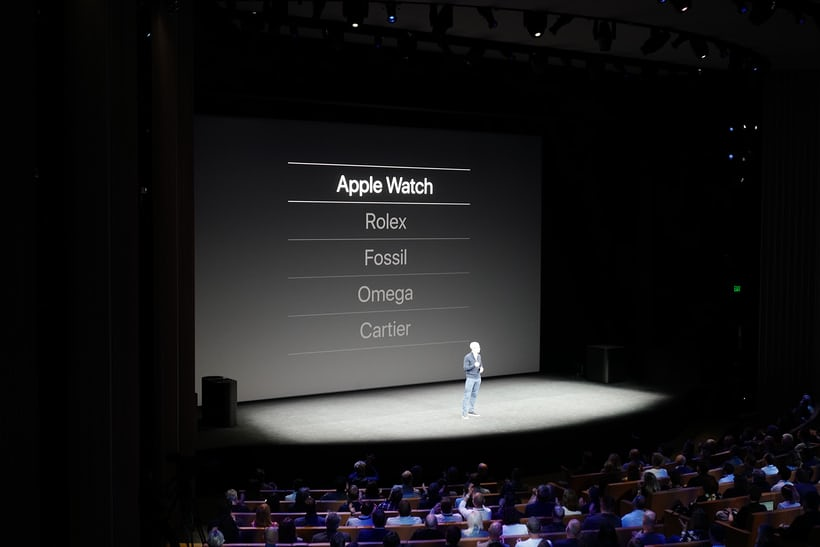 apple watch tim cook sales