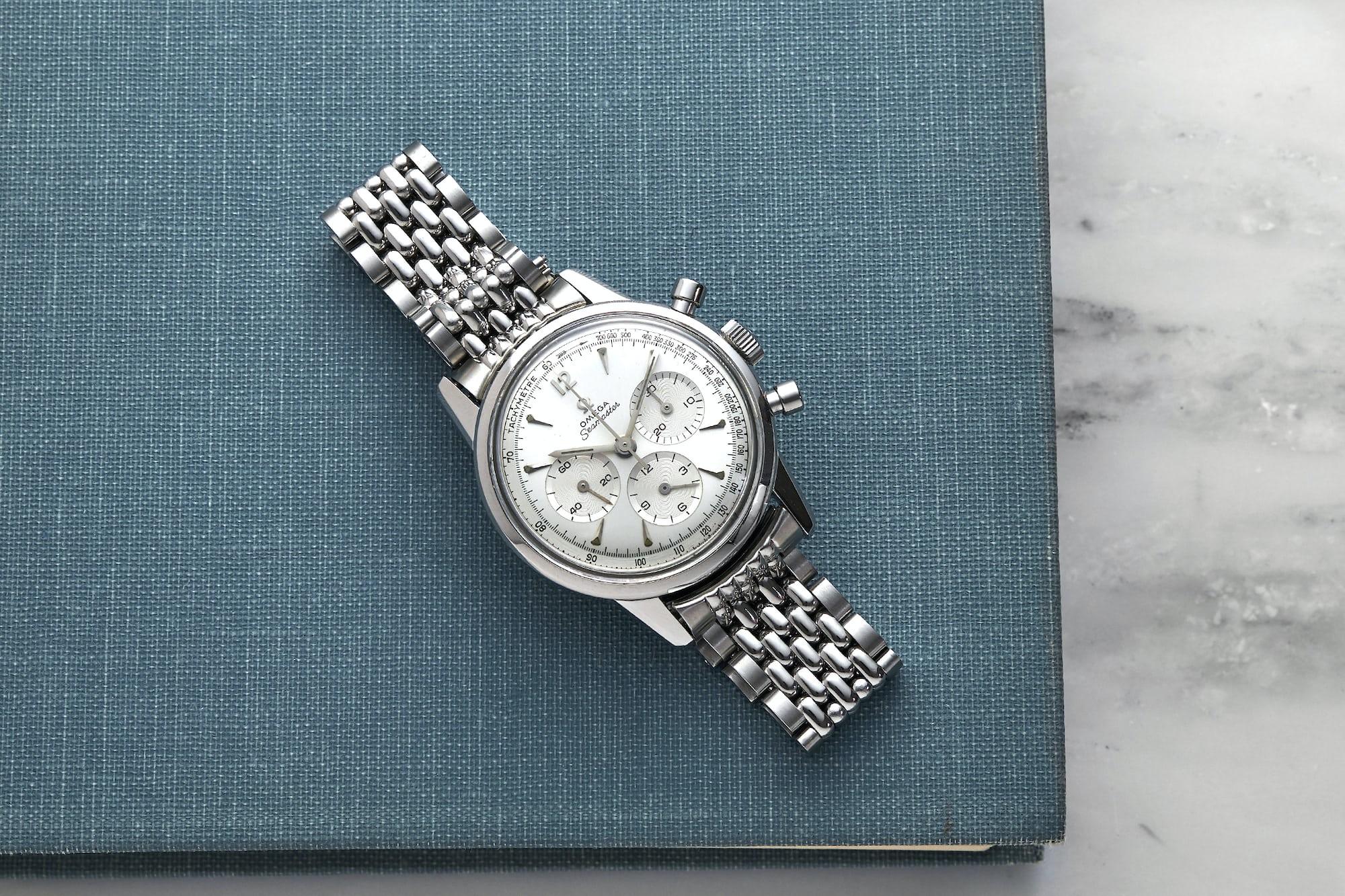 <p>1960s Omega Seamaster Chronograph</p>