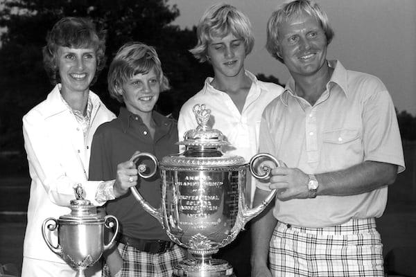Golfer Jack Nicklaus