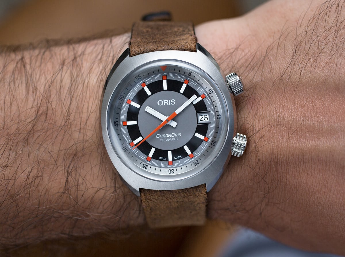 946559361 Fun and rather charming, the ChronOris's 39mm sizing will suit a wide range  of wrist sizes.