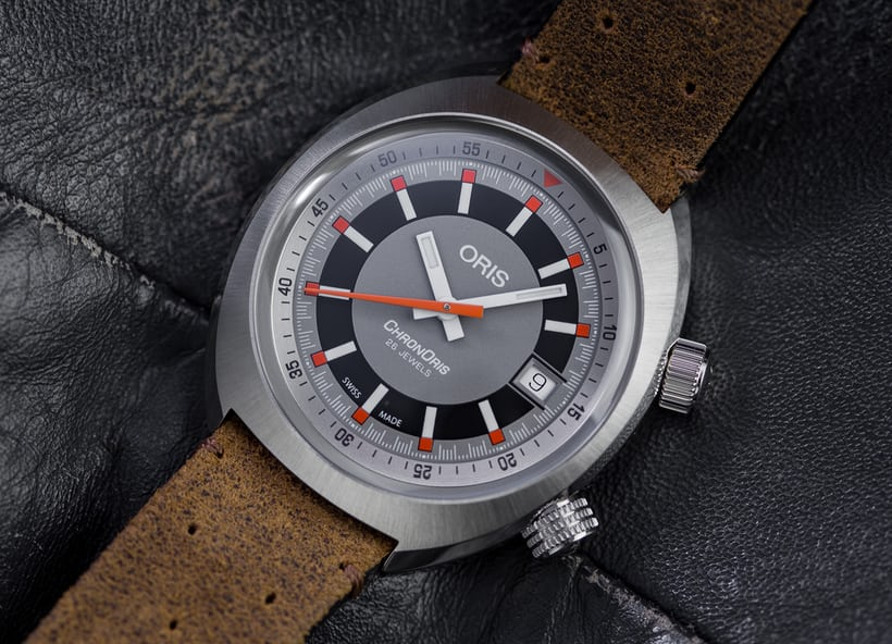 4918ac8bc Nicely sized, great looking, and easy to wear, the ChronOris nails the new  vintage formula.