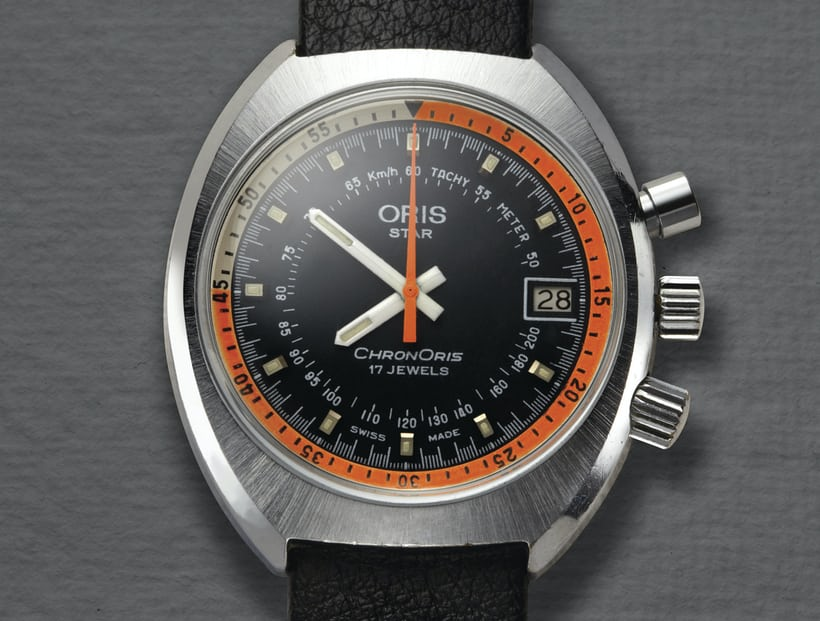 8d918b527 The original ChronOris from 1970 was also Oris's first chronograph.