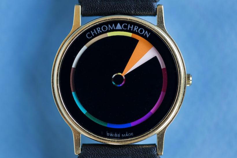 chromachron watch color time
