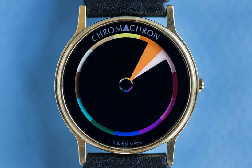 chromachron watch color time