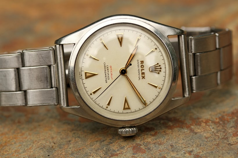 Rolex 'Big Bubbleback' 6106