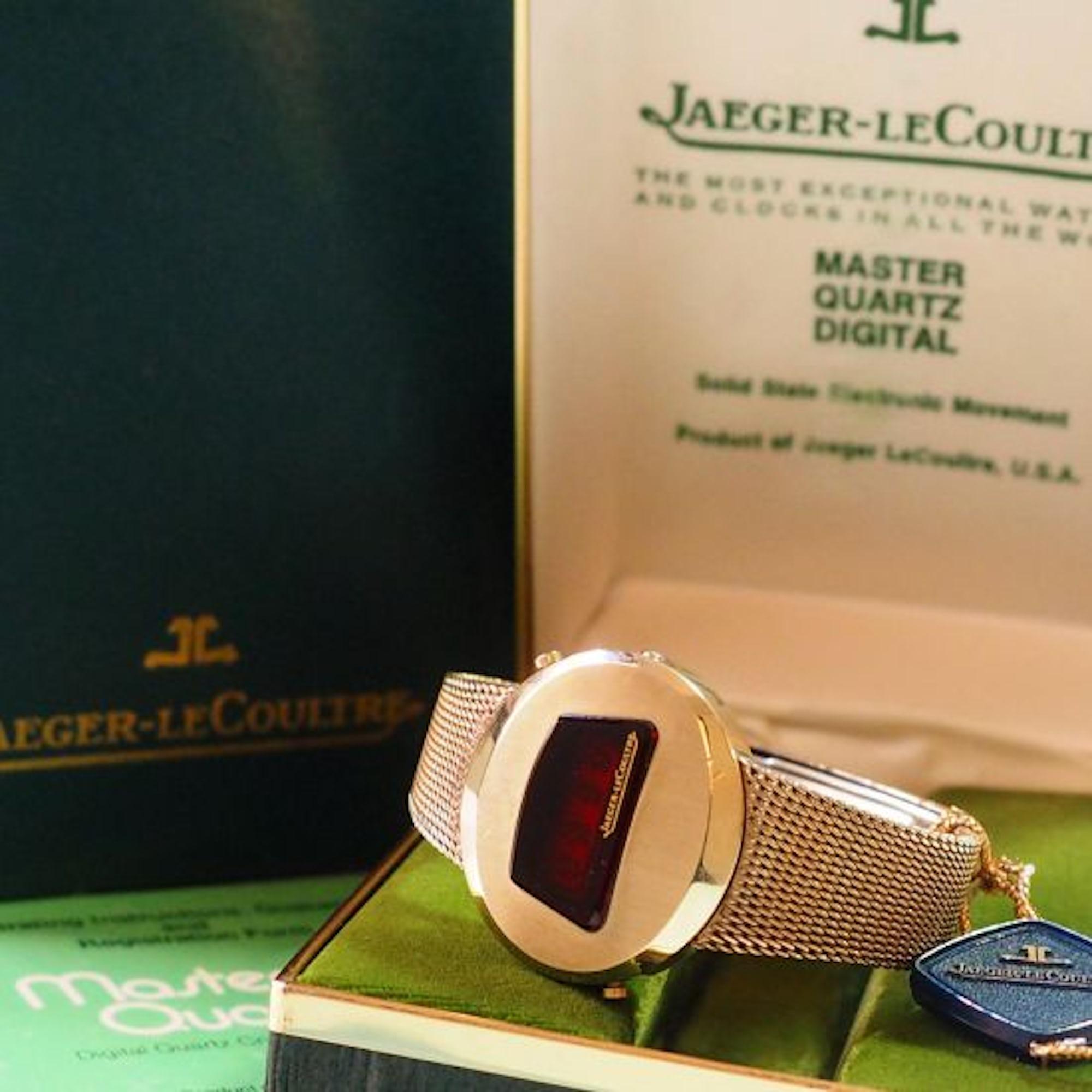 Jaeger-LeCoultre Master Quartz Digital full set