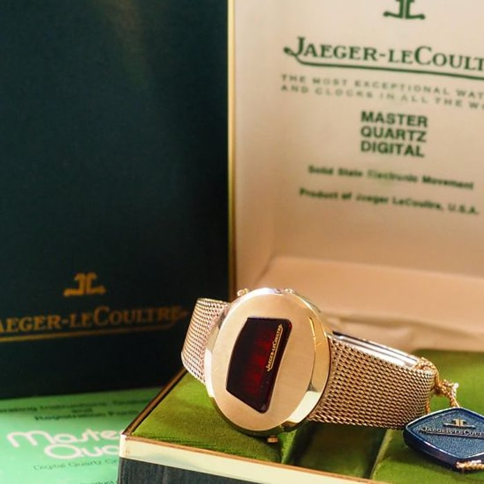 Jaeger-LeCoultre Master Quartz Digital full set