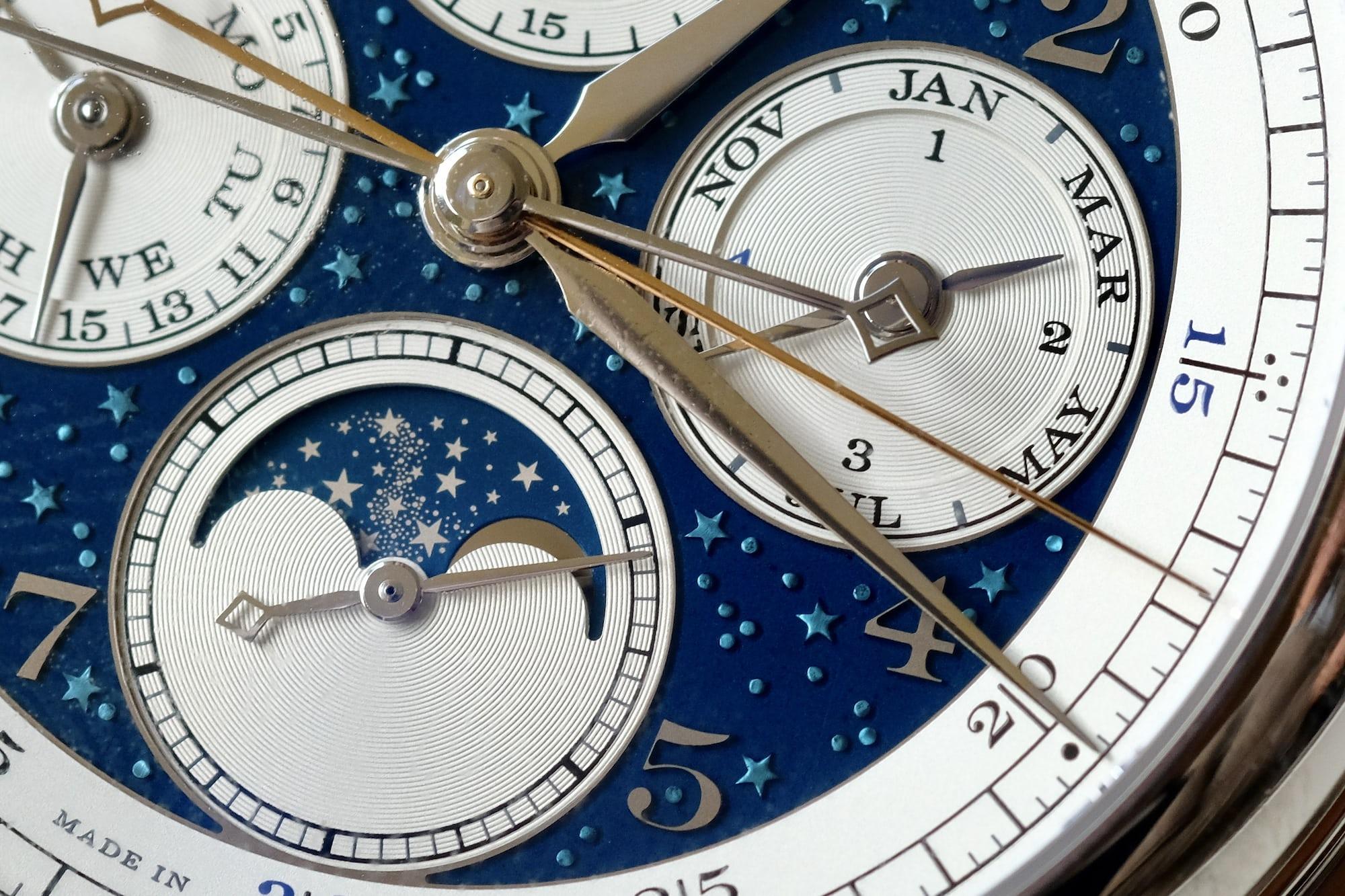 1815 Rattrapante Perpetual Calendar Handwerkskunst moonphase