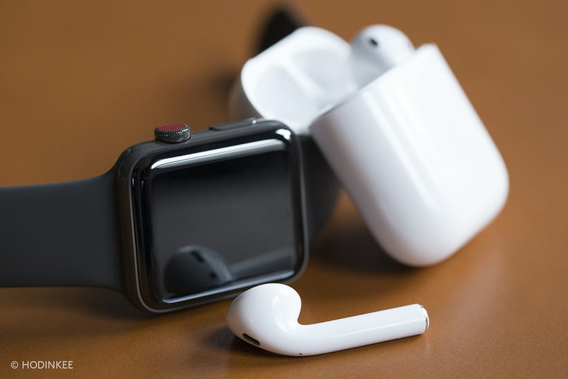 apple watch series 3 edition airpods