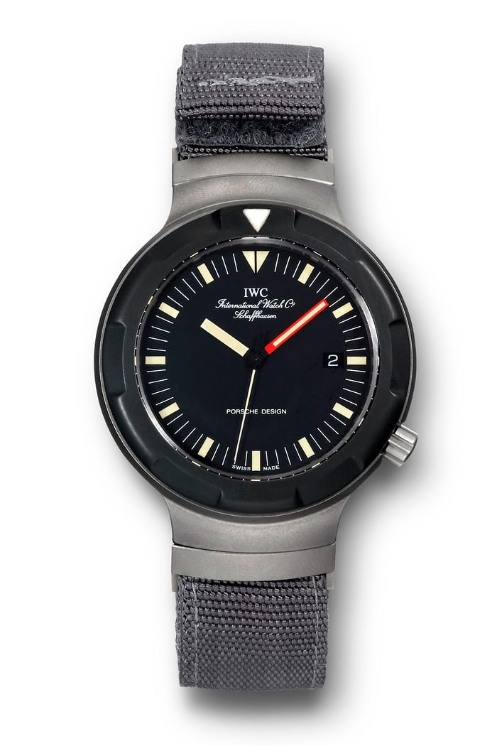 The Porsche Design by IWC Ocean 2000, 1983.