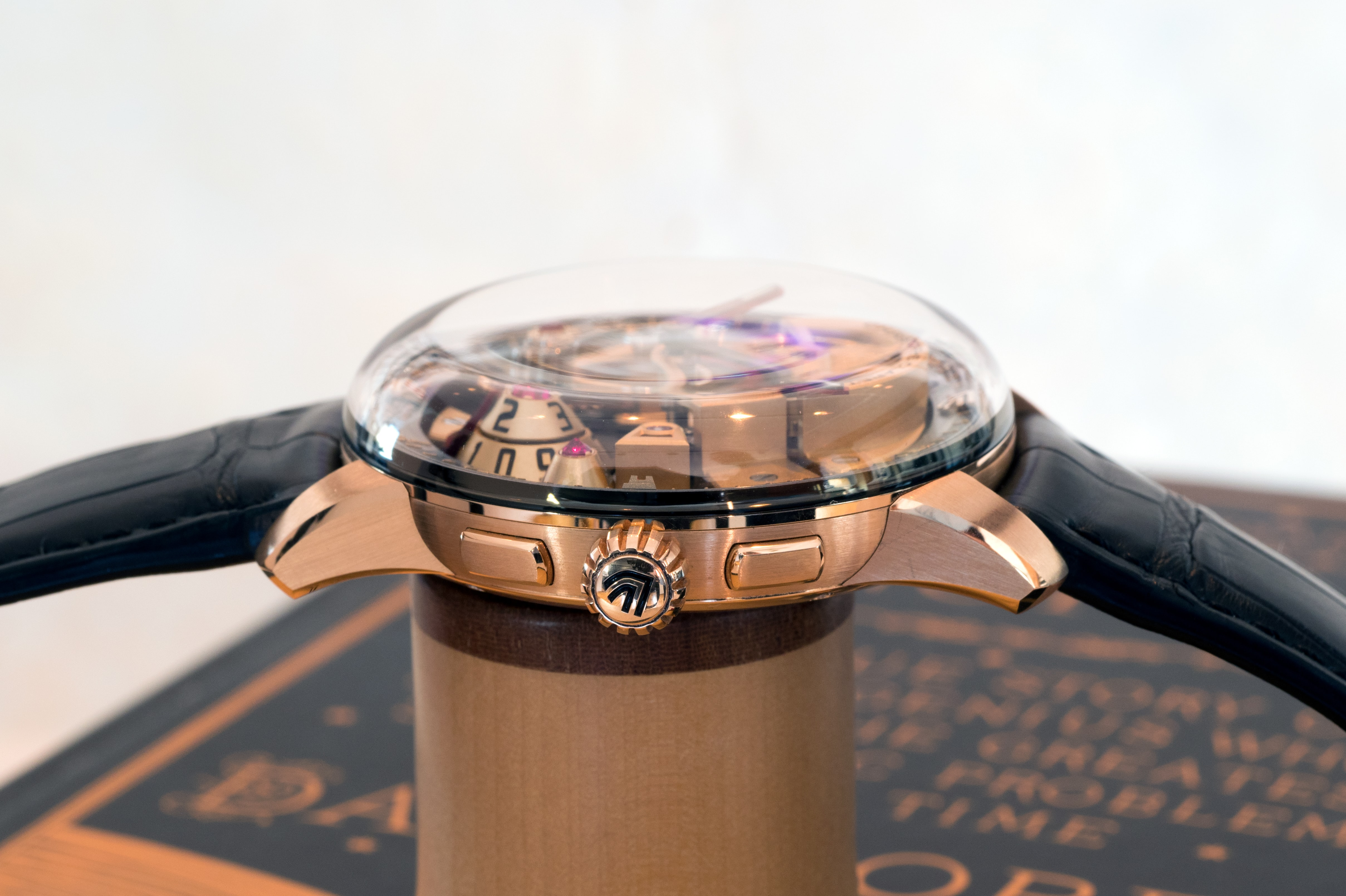 Claret Maestro side view Hands-On: The Christophe Claret Maestro Hands-On: The Christophe Claret Maestro P7262018