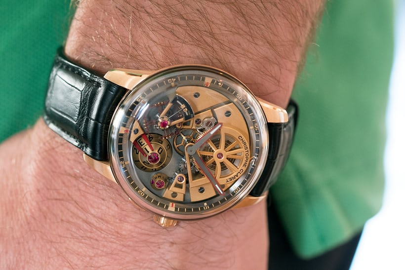 Claret Maestro wristshot