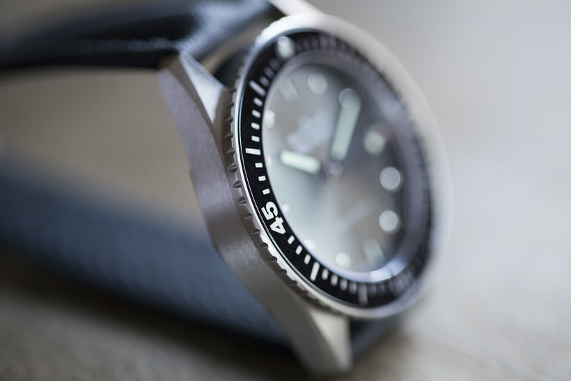 blancpain brushed steel