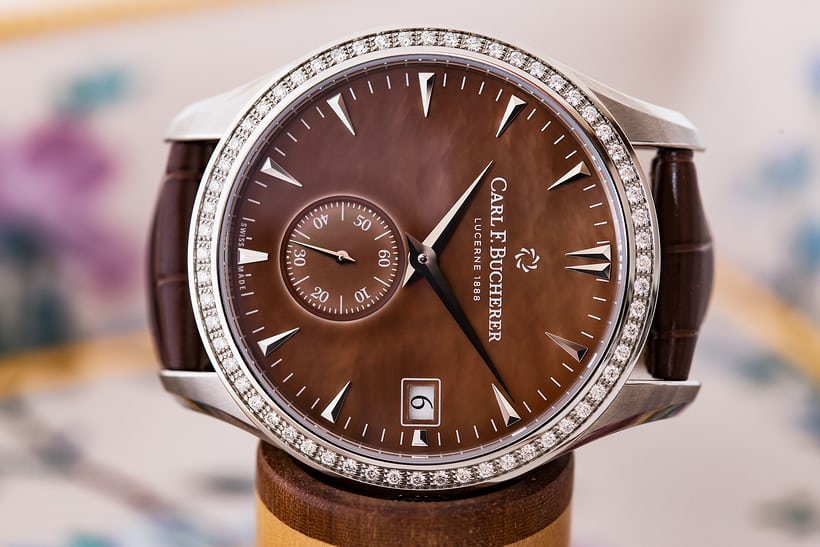 Carl F. Bucherer Manero Peripheral Ladies' model