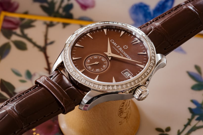 Carl F. Bucherer Manero Peripheral Ladies' side view